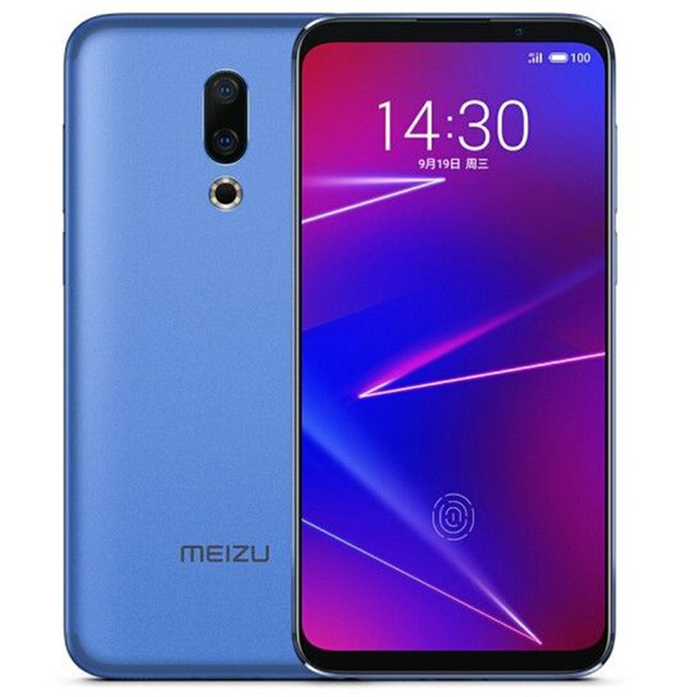 Global ROM Meizu 16X 6.0 Inch 4G LTE Smartphone Snapdragon 710  Dual Rear Cameras Android 8.1 In-Display Fingerprint Full Screen 2
