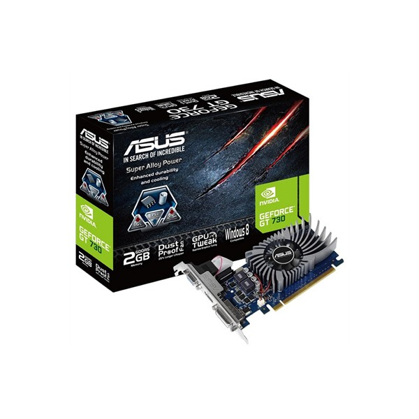 Graphics Card Asus NVIDIA GT 730 SL BRK 2 GB GDDR5