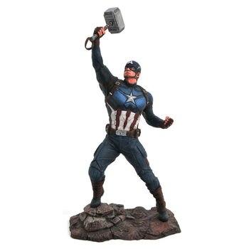 Statue diorama Captain America Avengers Endgame Marvel 23cm