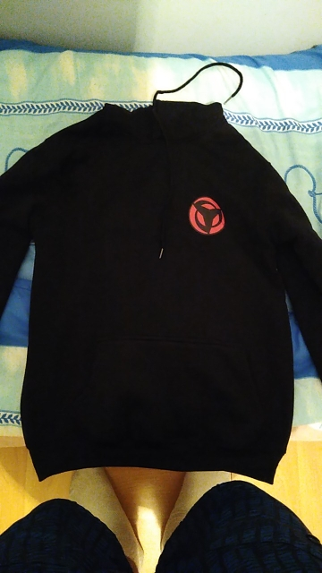 Naruto Uchiha Sharingan Hoodie photo review