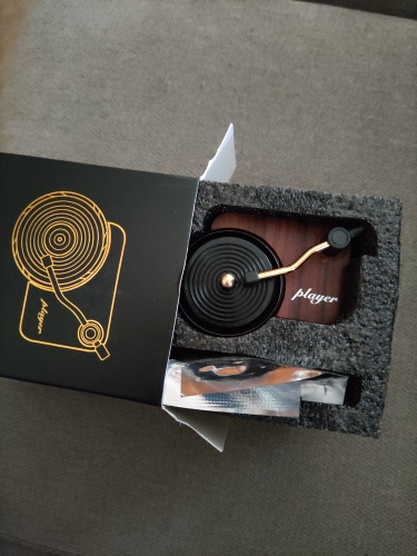 Record Player Car Air Freshener photo review