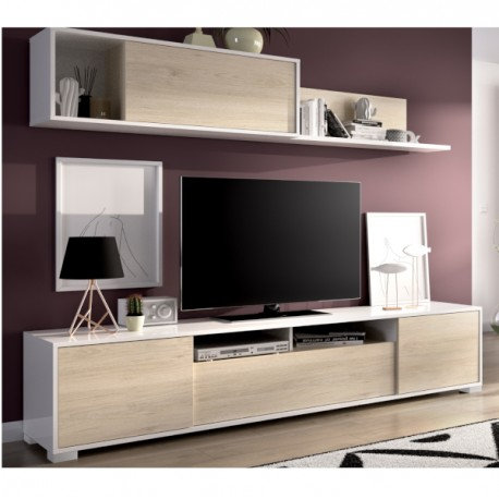 Cabinet Set Salon Television With Doors And Rack Ken