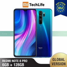 Global Version Xiaomi Redmi Note 8 Pro 128GB ROM 6GB RAM (Brand New / Sealed) note 8 pro, note8pro, note8 Smartphone Mobile