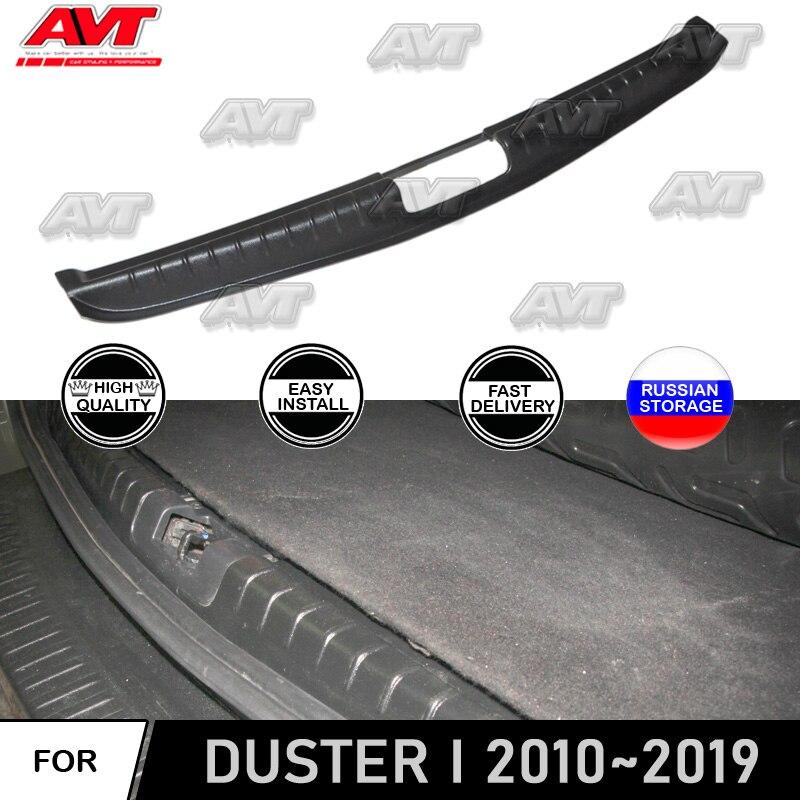 Capa protetora para renault/dacia duster 2010-2019 no limiar do tronco bagagem estilo do carro guarnição acessórios proteger