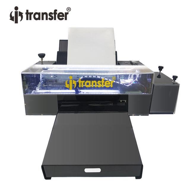 White Ink Circulation Stirring System DTF Printer PET Film Textiles Ink Hot Melt Powder Transfer Printing DTF A3 Printers Kit 2