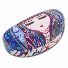 BiggDesign Blue Water Patterned Eyeglass Case, Special Design, PU Material, For