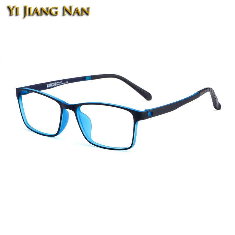 TR90 estudiante de prescripción Flexible para adolescentes gafas ópticas gafas ligeras de peso montura de gafas para mujeres