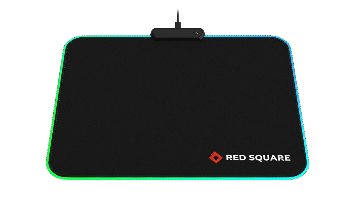 Computer gaming mouse pad Red Square MOUSE MAT RGB cyber sport стоимость