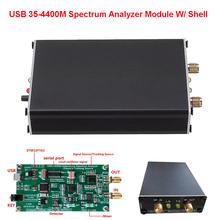 Analizator widma USB LTDZ 35-4400M moduł śledzenia sygnału moduł analizy częstotliwości RF z powłoką tanie tanio BOBLOV CN (pochodzenie) Elektryczne