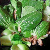 快手鲜美的素菜——鸡汁香菇青菜+太太乐鲜鸡汁芝麻香油的做法图解8