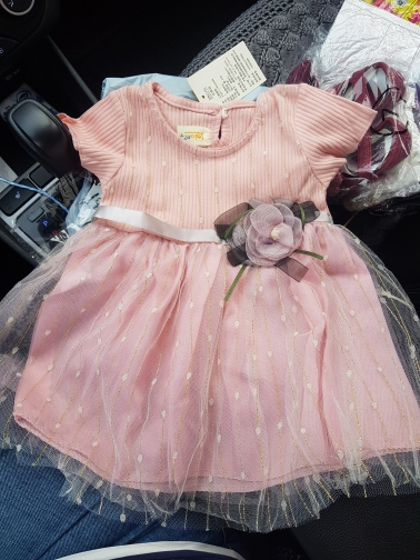 Flower Formal Toddler Dress photo review