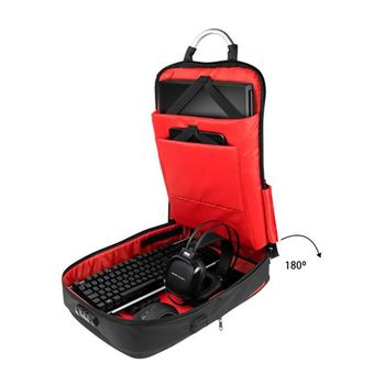 """Anti-theft Rucksack with USB and Tablet and Laptop Compartment Mars Gaming MB2 17"""""""