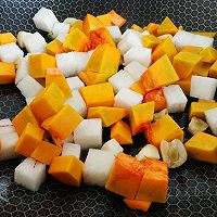 咖喱豆腐素什锦的做法图解2