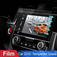 Vehemo автомобильное закаленное стекло для автомобиля gps MP5 видео плеер Защитная Пленка премиум 7 дюймов 153x89 мм DVD Защита ЖК-монитор