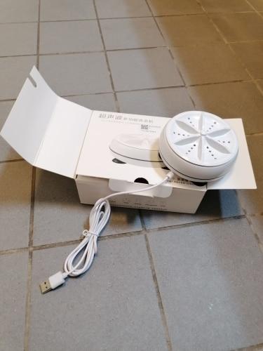 UltraSonic Portable Washing Machine - cravingdealz photo review