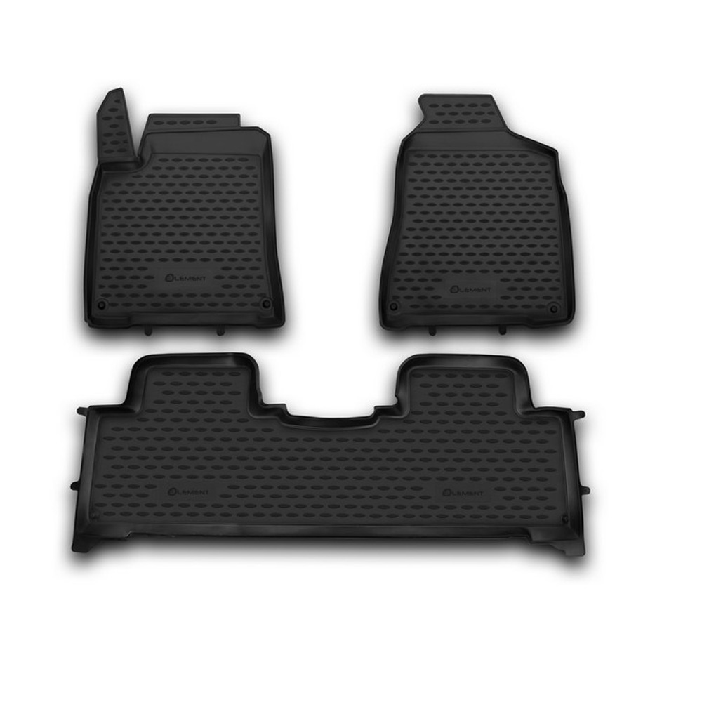 Floor mats for SSANGYONG New Actyon 2010 3 PCs NLC.61.10.210h|  - title=