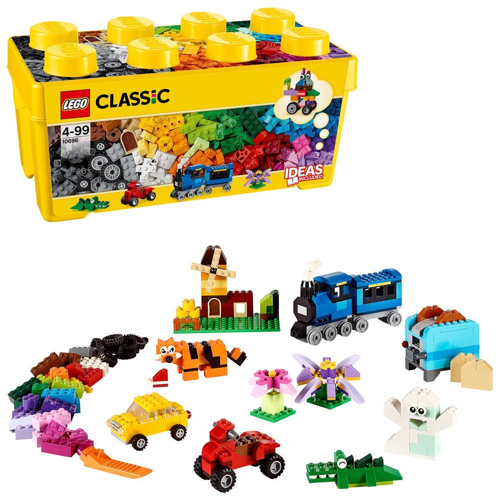 LEGO Classic Caja de Ladrillos Creativos Mediana LEGO® Juguete de Construcción Creativa para Niños (10696)    - AliExpress