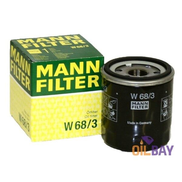 Mann Filter Oil Filter W68//3