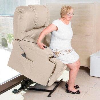 Sillón relax motorizado con mando levantapersonas con masaje Cecotec