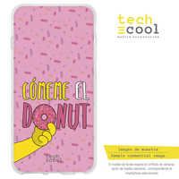 FunnyTech®Stand case for Xiaomi Silicone Mi5S Plus Spoof Comeme the donut vers.1