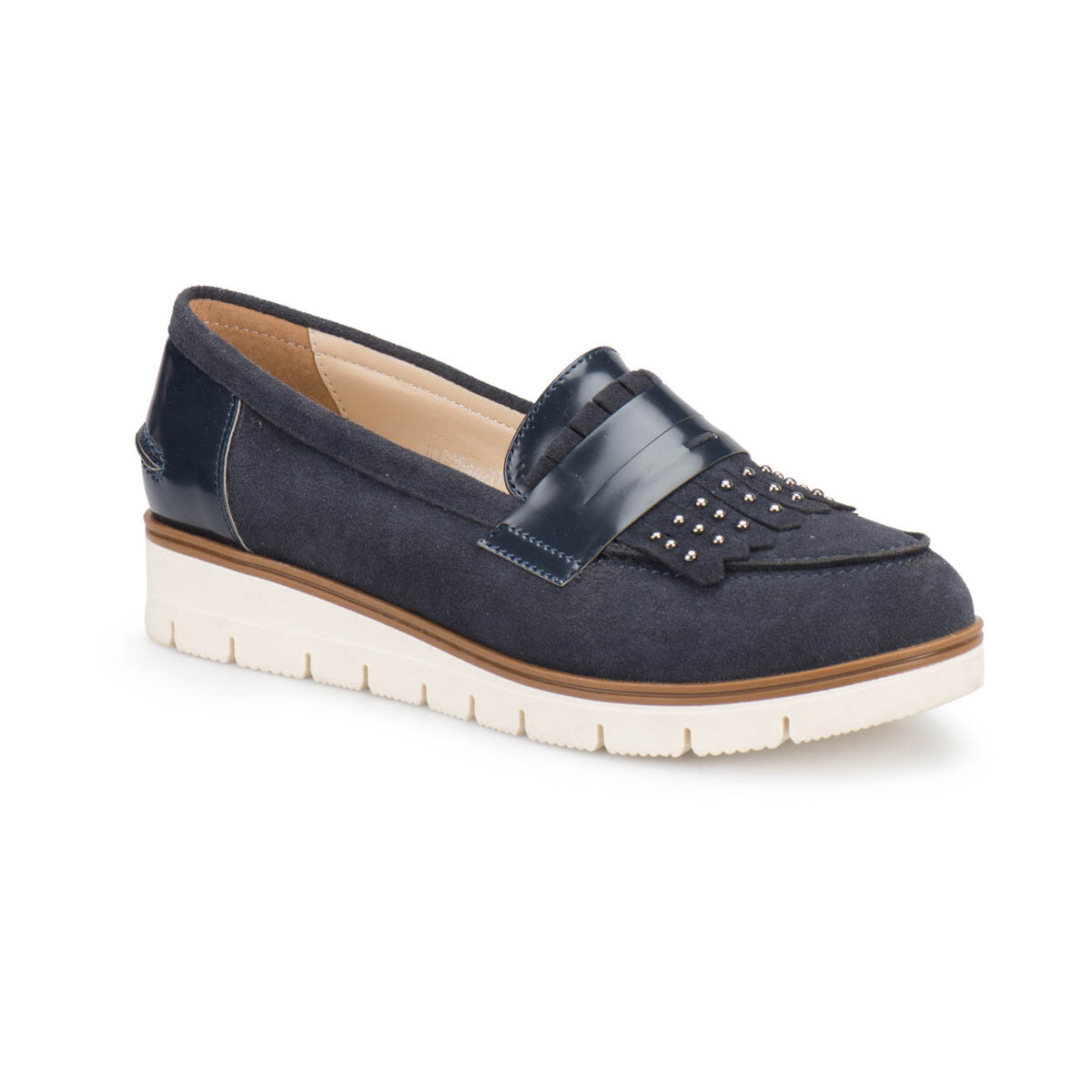 FLO Z076 Navy Blue Women Maskulen Shoes BUTIGO
