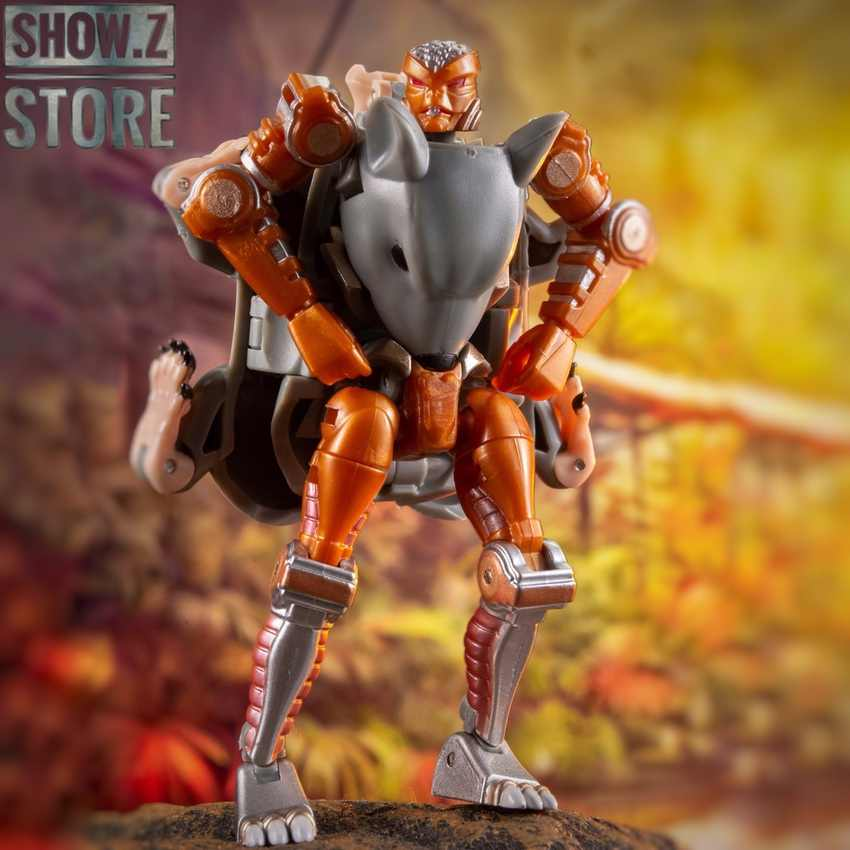 [Tienda Show.Z] transformable Element TE MM-002, figura de acción transformable Rattrap, Beast War BW, TE-MM002