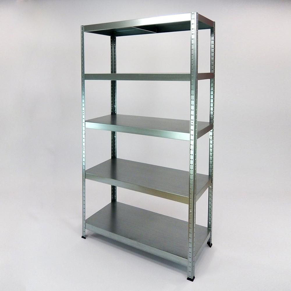 Shelves Métalica No Thumbscrews KO-Druttal 180x90x40 Galvanized Ideal For Boutiques, Trade, Garages And Wharehouse