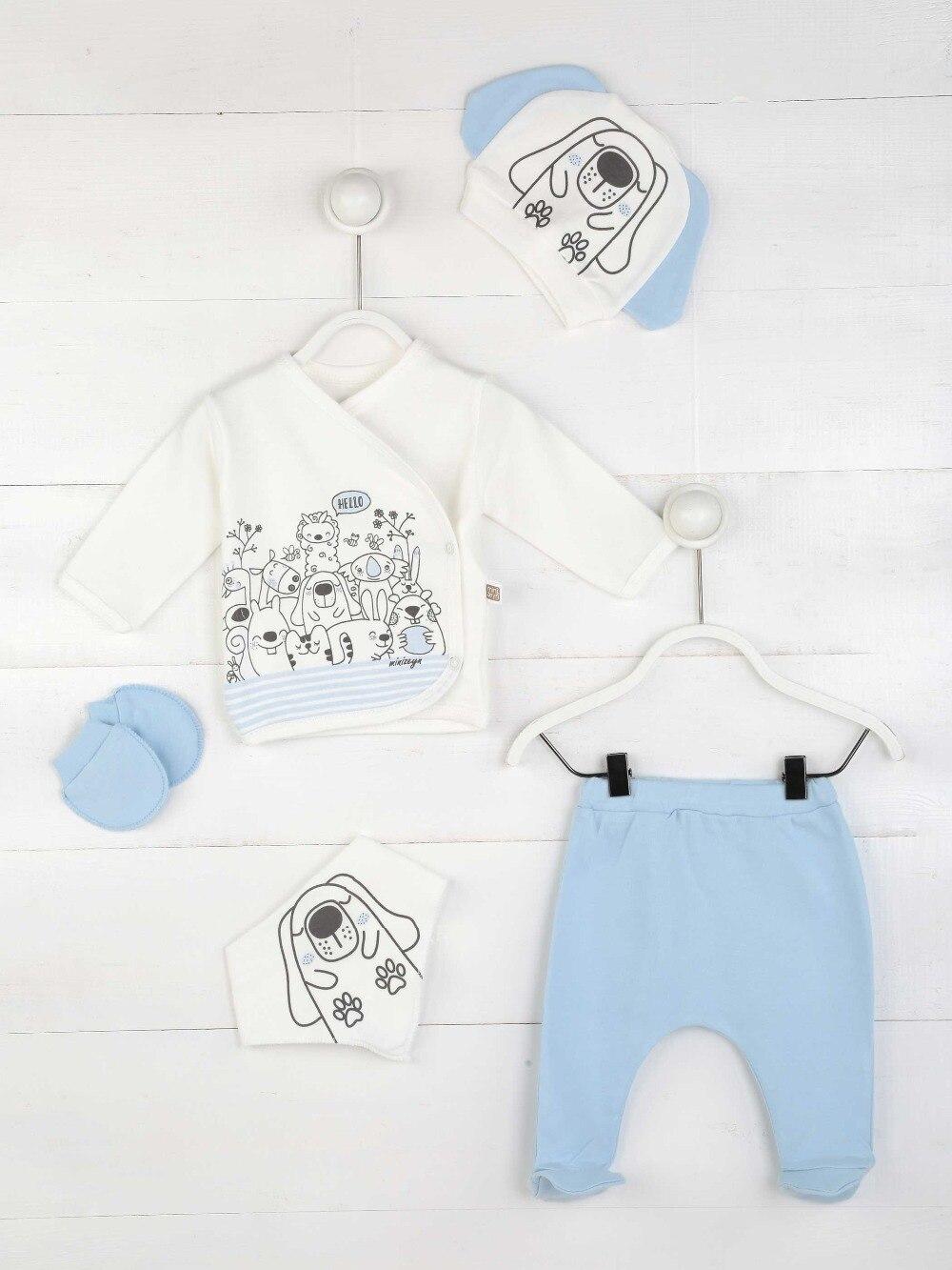 082-5514-015 Mavi Yenidoğan Erkek Bebek 5 li Hastane Çıkışı (1)