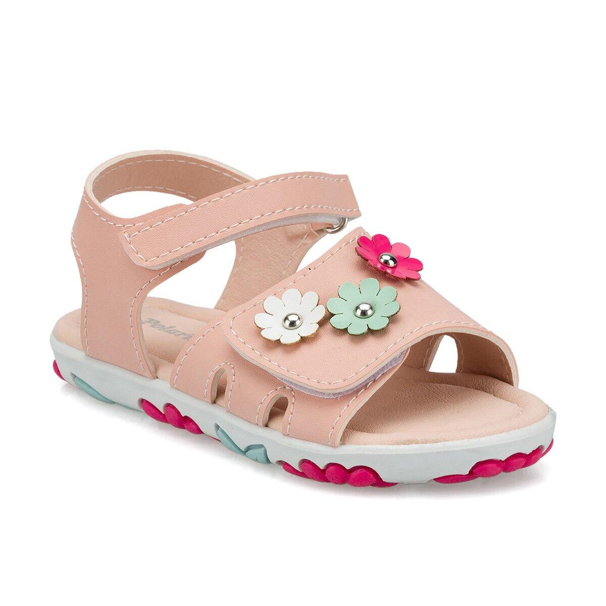FLO 512333.P Pink Female Child Sandals Polaris