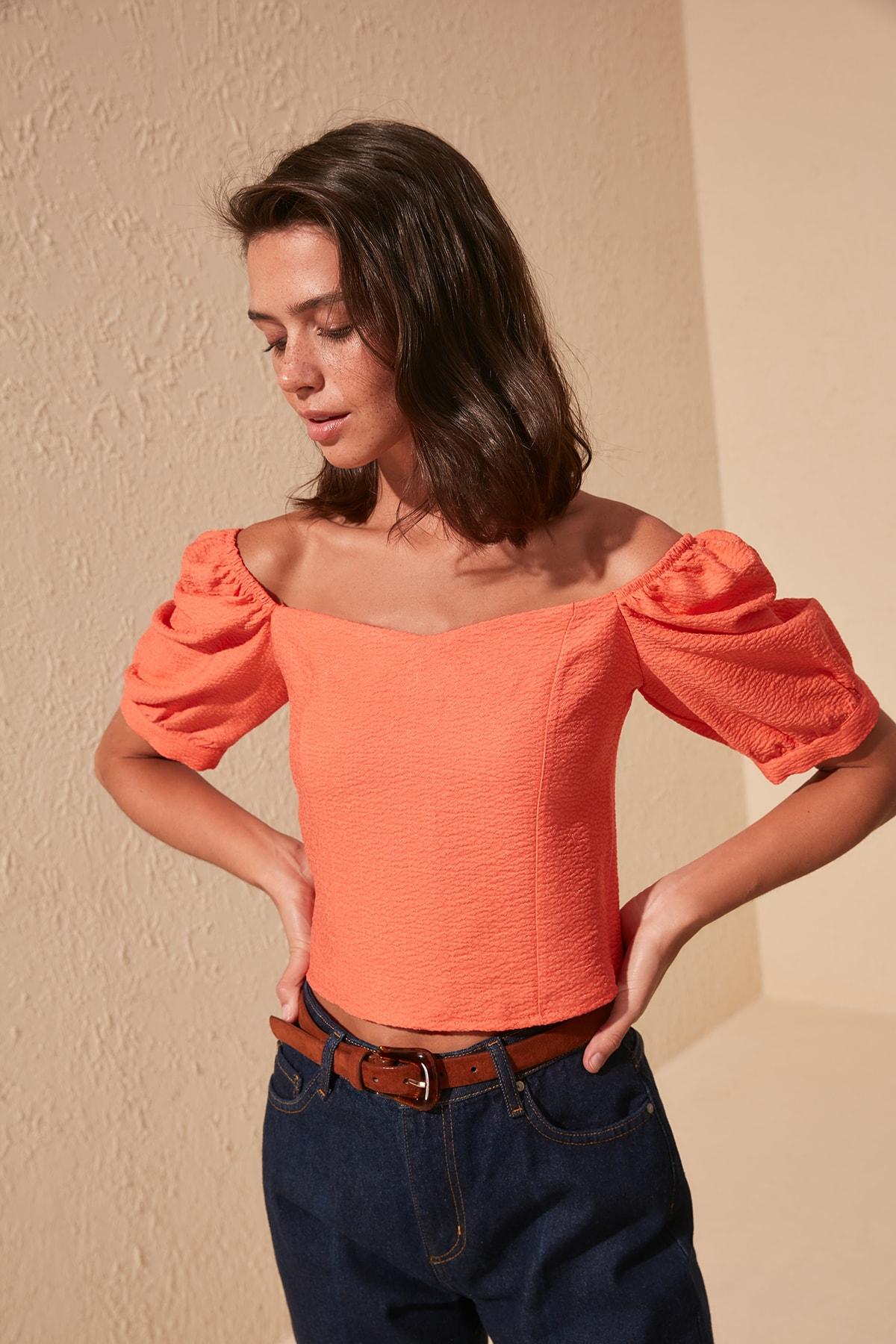 Trendyol Shoulder Detail Bluz TWOSS20BZ0511