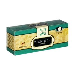 TIMONET, 25 herbal thyme infusions L 'alcoia