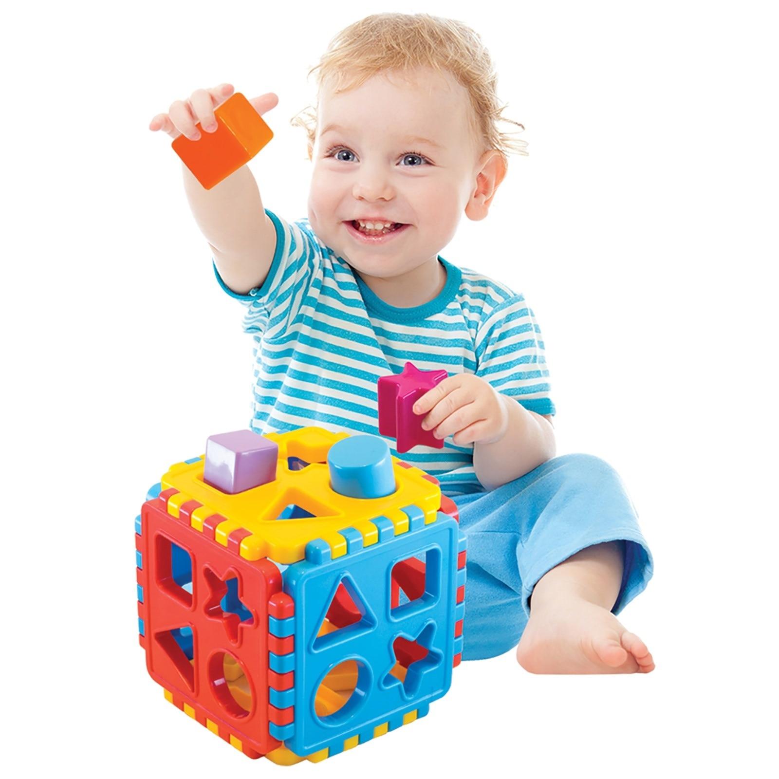 Ebebek Dede Baby Shape Sorter Puzzle