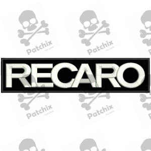 RECARO Iron patch Toppa ricamata gestickter patch brode remendo bordado parche bordado