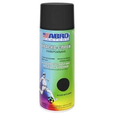 Paint spray Abro Masters (black ...