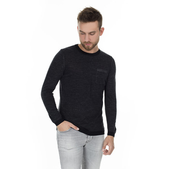 Lufian London Bicycle Collar Sweater MALE SWEATER 112090027