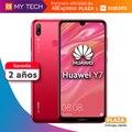Phone dial phone Huawei Y7, smartphone, original global version, 3 GB 32 GB, free from Spain, Square