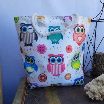New Fashion Women Foldable Shopping Bag Shopper Tote Large Eco Reusable Bags Portable Shoulder Handbag Folding Pouch