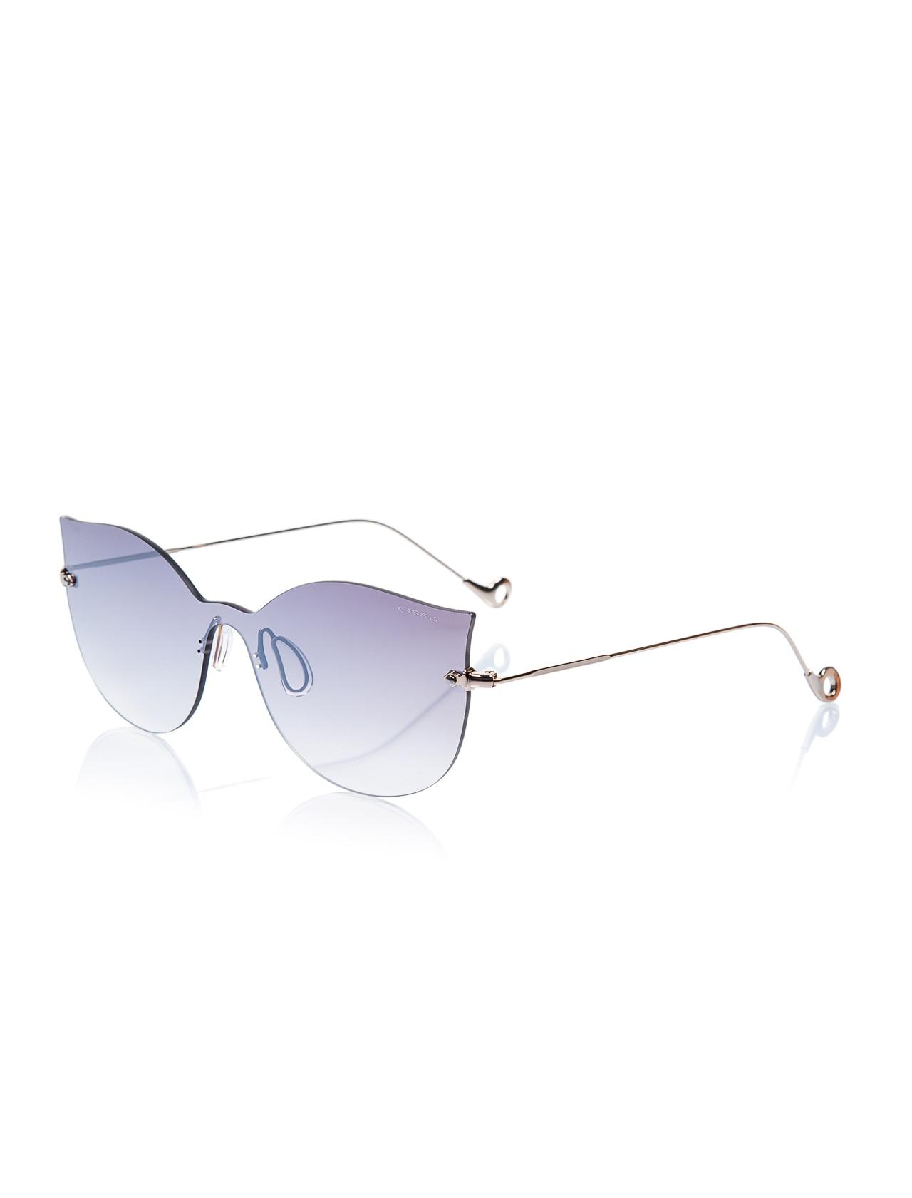 Women's sunglasses os 2639 02 unibody gold organic butterfly cat eye 54-13-145 osse