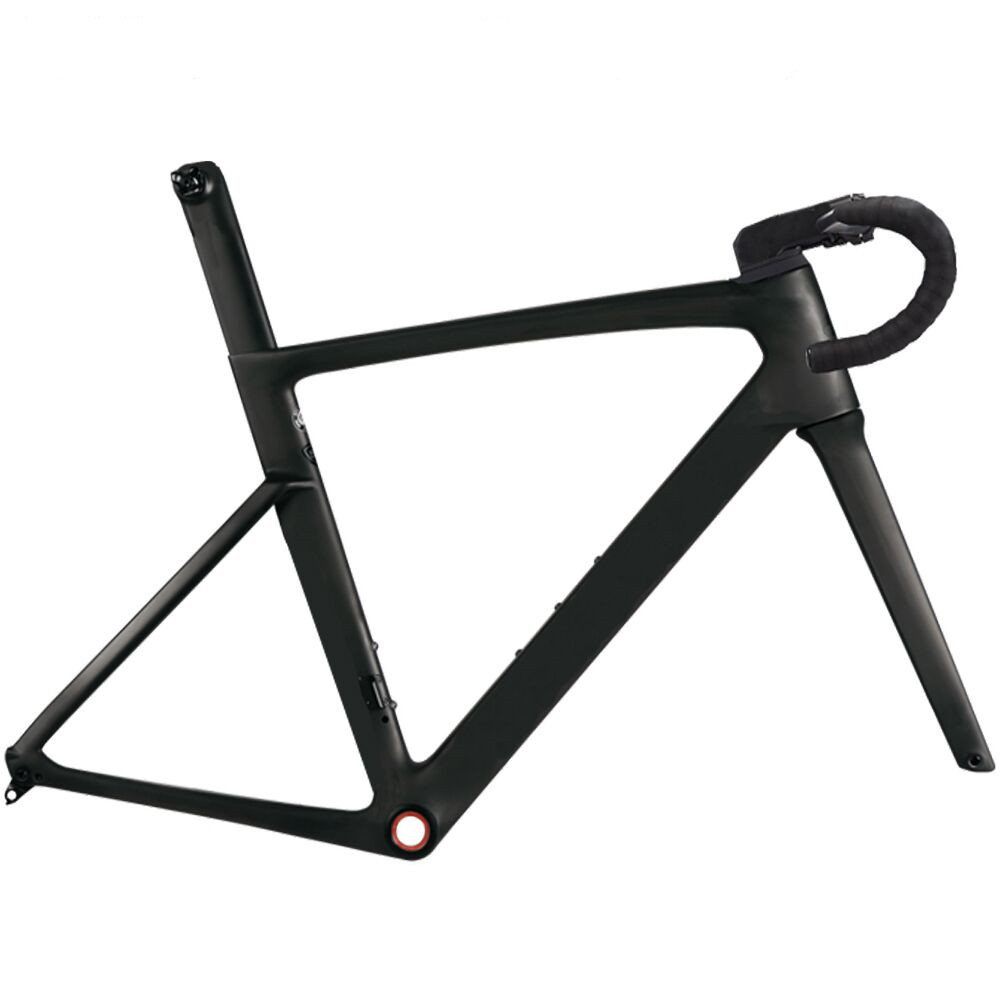 Carbon road frame 2020 best-selling disc or V brake models T1100 1K or 3K matte /glossy carbon disc brakes frame thru axle