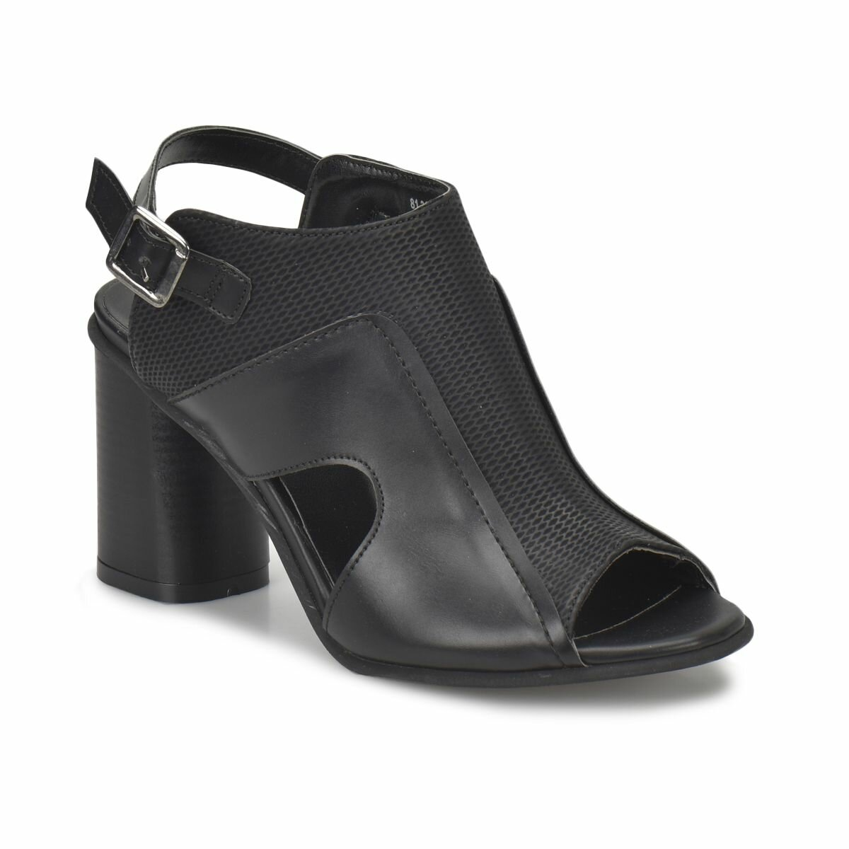 FLO 81.311242.Z Black Women Shoes Polaris