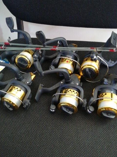 Carretilhas de pesca Quente Carretilhas Fundição
