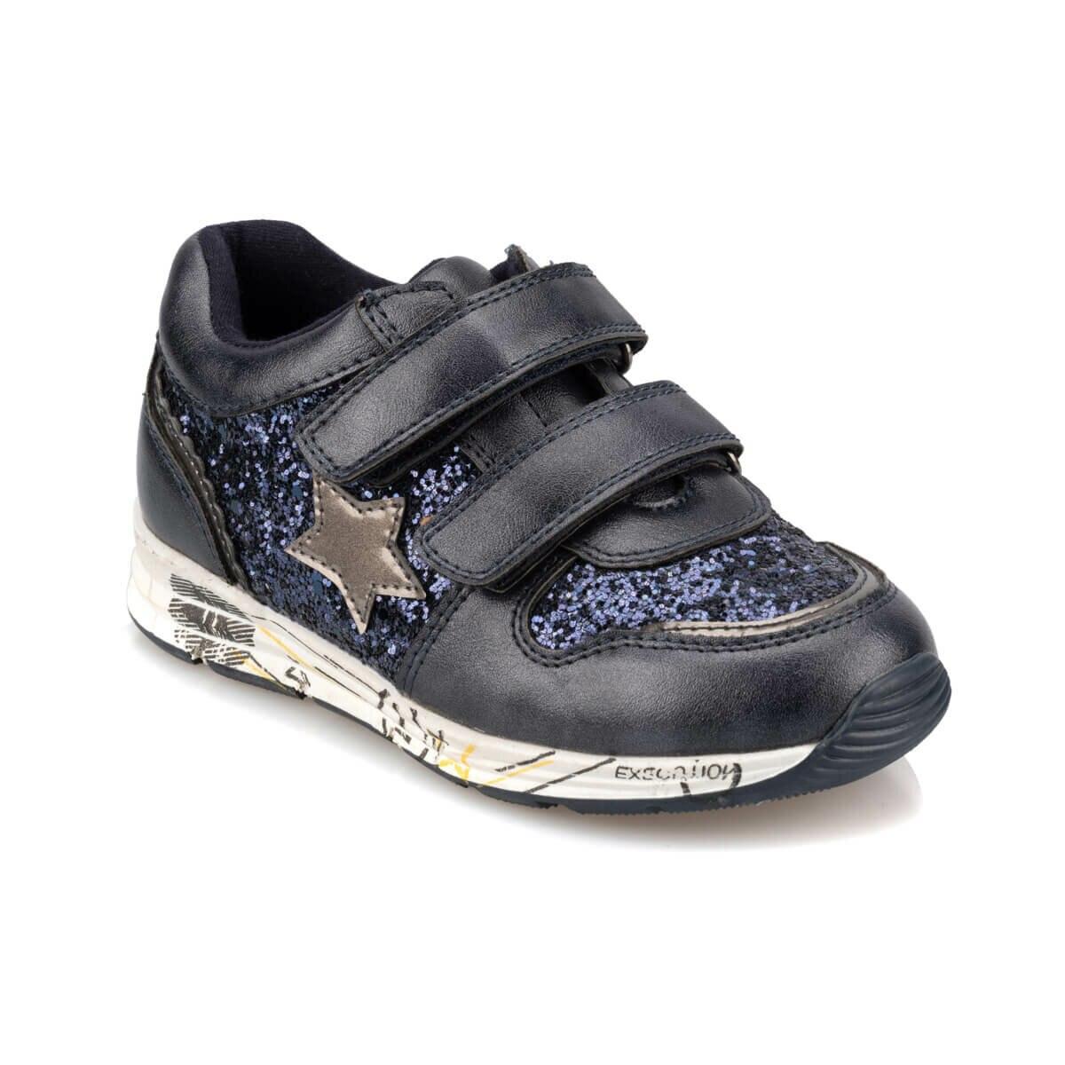 FLO 92.511779.P Navy Blue Female Child Sports Shoes Polaris