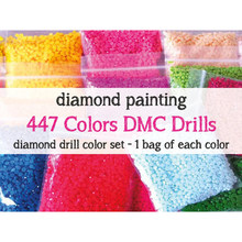 447colors for Diamonds Painting Accessory Round/Square Resin 5D Drill Diamond Mosaic Stone Color Diamond Sales Wholesale 1bag=1g
