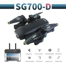 SG700 D profissional kamera drona 720p/1080p 4k HD WiFi FPV silnik szczotkowy śmigło długi na baterie powietrze RC dron Quadcopter