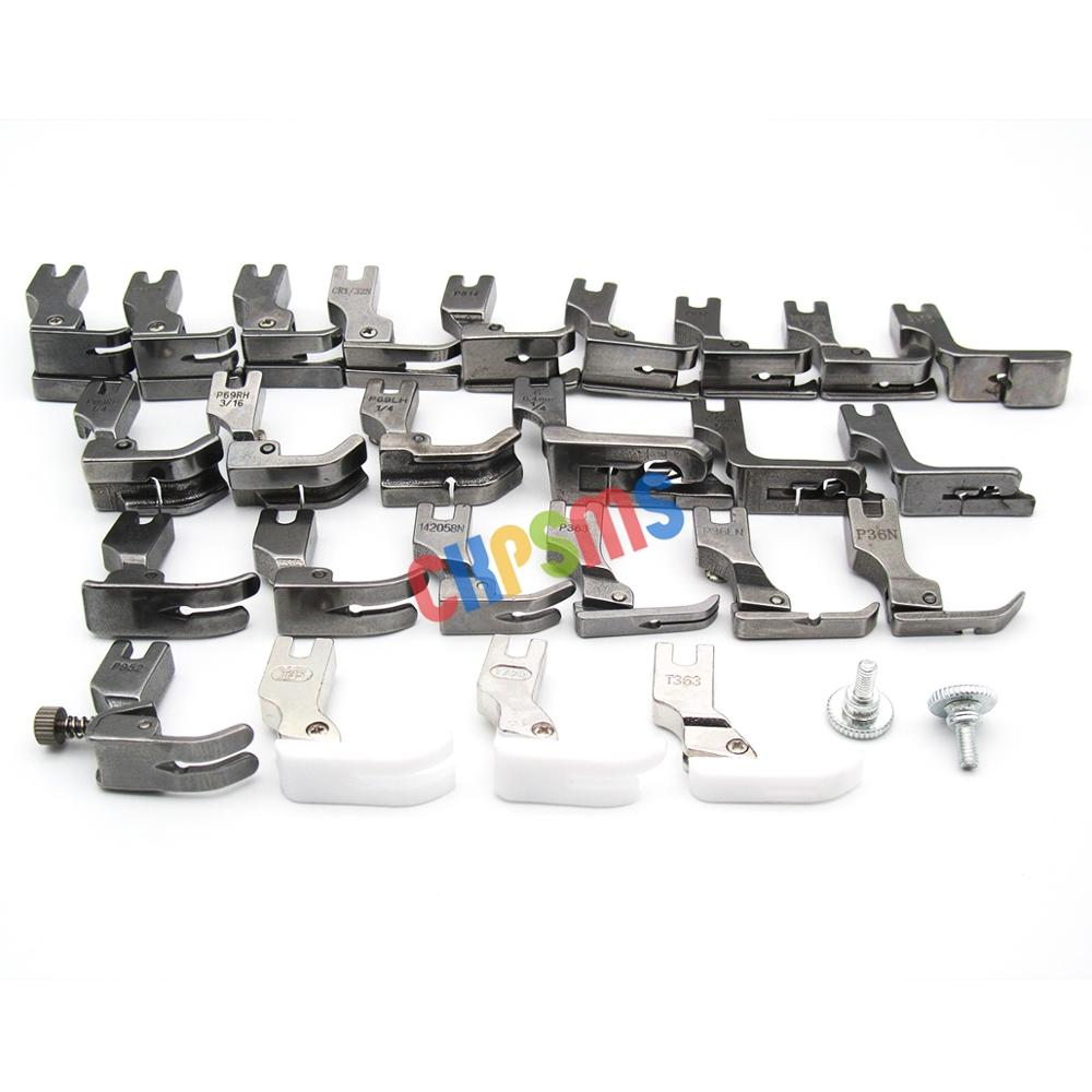 Image 3 - 25PCS PRESSER FEET SET FIT FOR JUKI DDL 555 5550 5600 8300 8500 8700 9000 SEWING Machine #KP PF25-in Sewing Tools & Accessory from Home & Garden