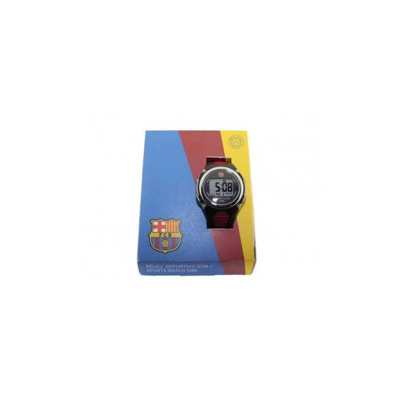 Wrist Watch FC Barcelona Black Youth