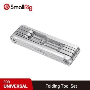 Image 5 - SmallRig DSLR מצלמה Rig מתקפל כלי סט עם מברגים וברגים 2213