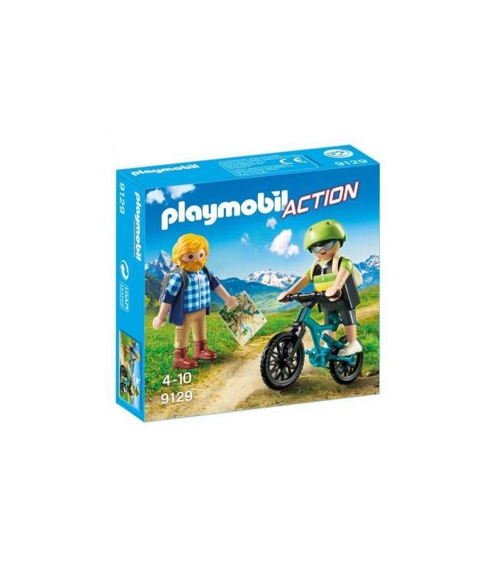 Playmobil 9129 Cyclist And Hiker Toy Store
