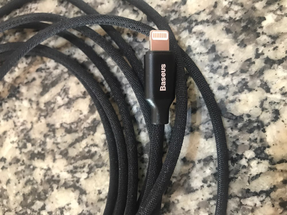 Baseus USB Cable For iPhone 11 Pro Xs Max Xr X 8 7 6 6s 5s se iPad Fast Charging Charger Data Wire Cord Mobile Phone Cable 3m 5m-in Mobile Phone Cables from Cellphones & Telecommunications on AliExpress