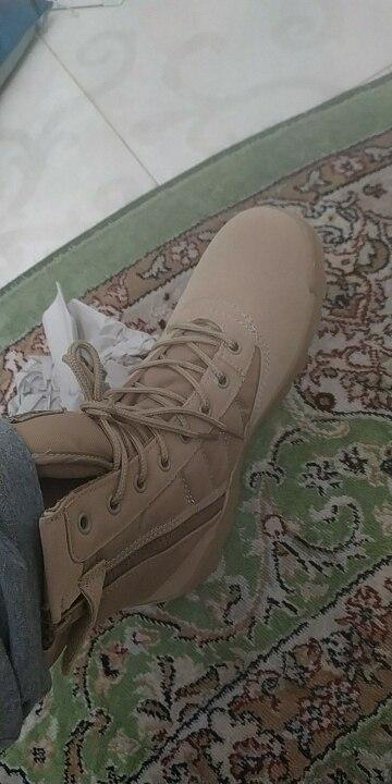 Calçados para caminhada Homens Deserto Militares